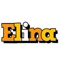 Elina cartoon logo