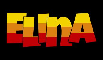 Elina jungle logo