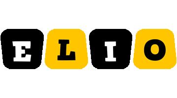 Elio boots logo