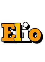 Elio cartoon logo