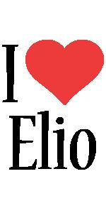 Elio i-love logo