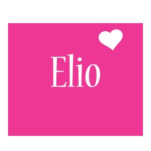 Elio love-heart logo