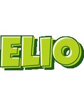 Elio summer logo