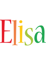 Elisa birthday logo