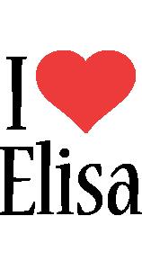 Elisa i-love logo