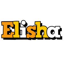 Elisha cartoon logo