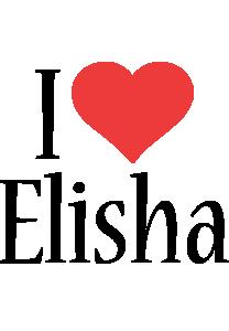 Elisha i-love logo