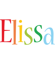 Elissa birthday logo