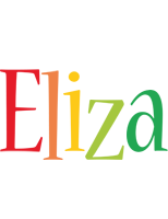 Eliza birthday logo