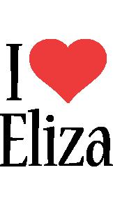 Eliza i-love logo