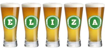 Eliza lager logo