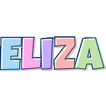 Eliza pastel logo