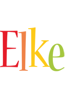 Elke birthday logo