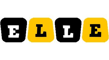 Elle boots logo