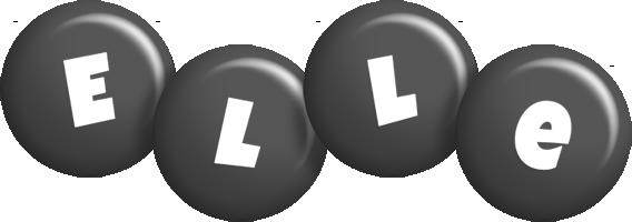 Elle candy-black logo