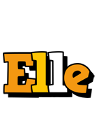 Elle cartoon logo