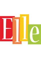 Elle colors logo