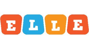 Elle comics logo