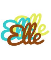 Elle cupcake logo