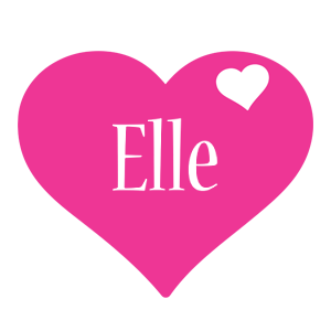 Elle love-heart logo