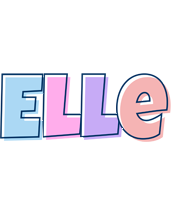 Elle pastel logo