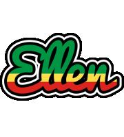 Ellen african logo