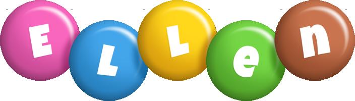 Ellen candy logo