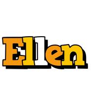 Ellen cartoon logo