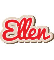 Ellen chocolate logo