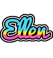 Ellen circus logo