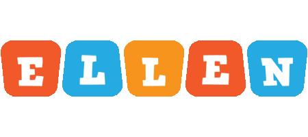 Ellen comics logo