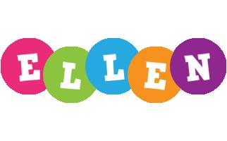 Ellen friends logo