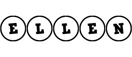 Ellen handy logo