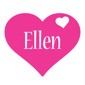 Ellen love-heart logo