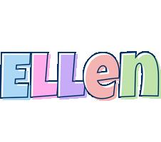 Ellen pastel logo