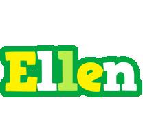 Ellen soccer logo