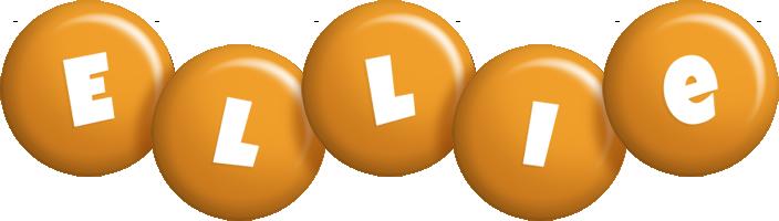 Ellie candy-orange logo