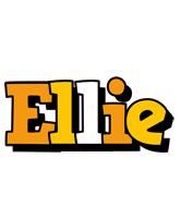 Ellie cartoon logo