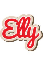 Elly chocolate logo