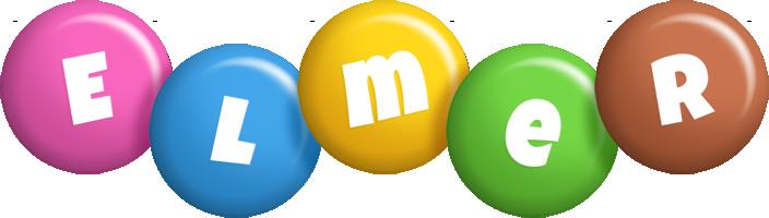 Elmer candy logo