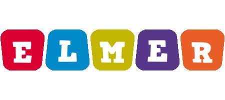 Elmer daycare logo