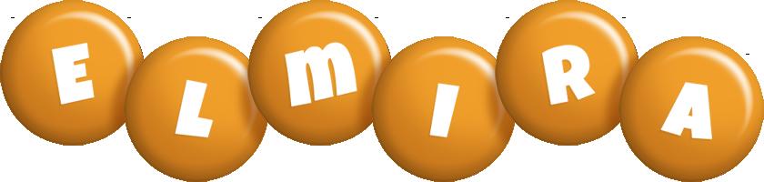 Elmira candy-orange logo