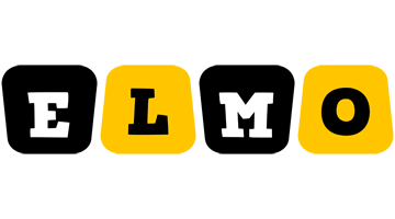 Elmo boots logo