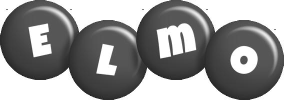 Elmo candy-black logo