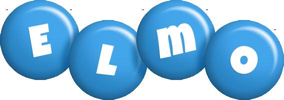 Elmo candy-blue logo