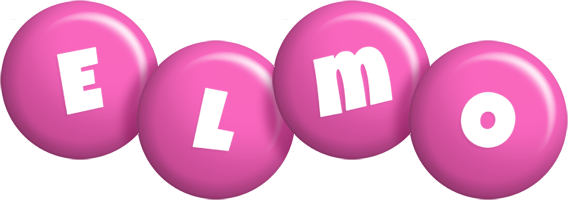 Elmo candy-pink logo