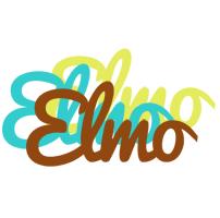 Elmo cupcake logo
