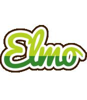Elmo golfing logo