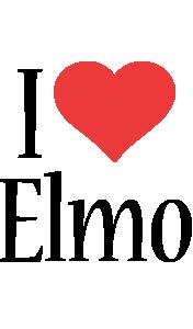 Elmo i-love logo