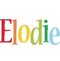 Elodie birthday logo